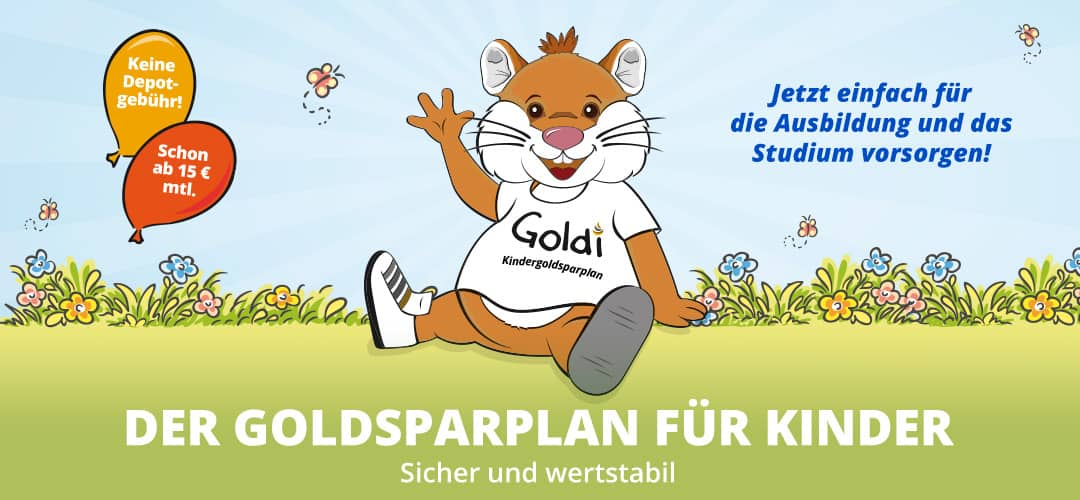 Goldsparplan für Kinder